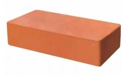 Кирпич лицевой полнотелый красный М400 Рябово